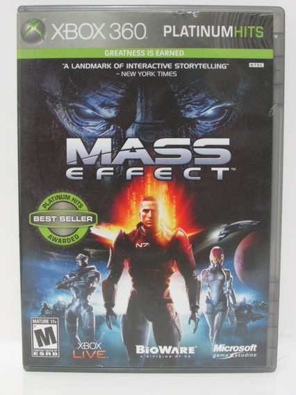 Mass Effect - Game Xbox 360 Original E Completo Mídia Física