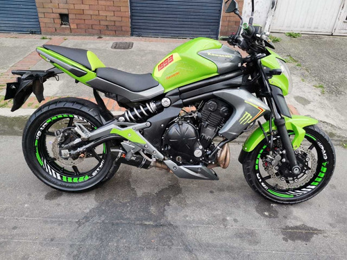 Kawasaki Er6n Verde Lima