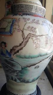 Urna Funeraria China Ceramica