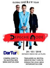 Traslados Al Recital Depeche Mode En Estadio Unico La Plata