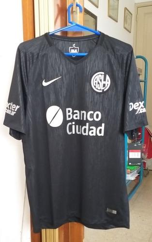 Camiseta San Lorenzo Nike Piel De Cuervo Original Ed. Ltda.