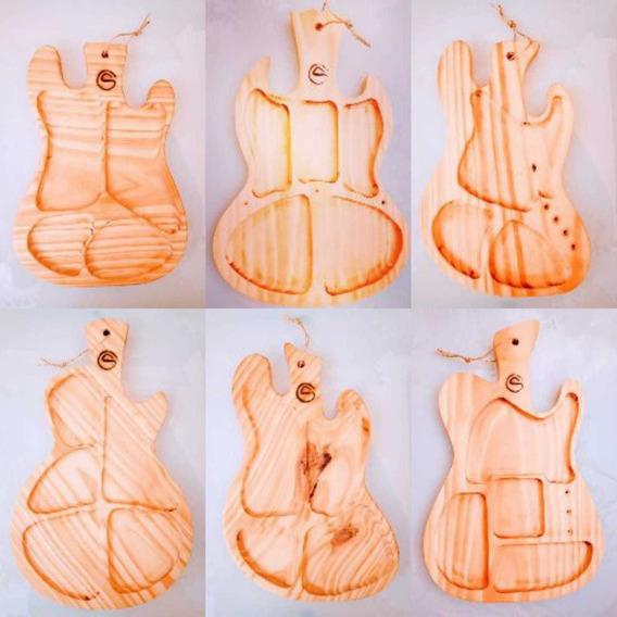 Tablas Para Picadas, Diseños De Guitarras Y Bajos,