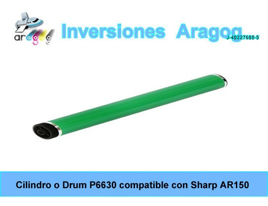 Cilindro O Drum P6630 Compatible Con Sharp Ar150