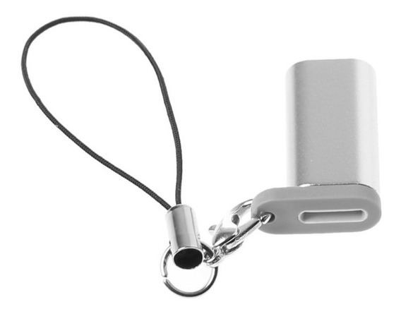 Adaptador Lighting Apple Pencil iPad Pro Reposição Metal Top
