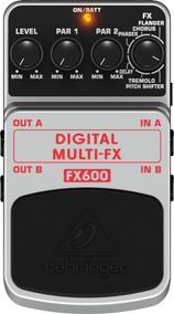 Pedal Behringer Fx 600 Digital Multi Fx ( Multi Efeitos )