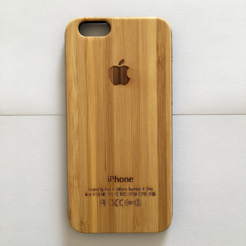 88588e207b2 Funda Carcasa Madera iPhone 6 Y 6s - $ 550,00 en Mercado Libre