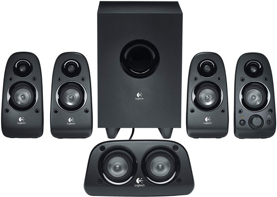 Altavoces Logitech 5.1 Cornetas Surround Home Theater Z506