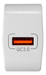Cargador Rapido Nisuta 3.0 Cable Usb C 1m Qc3.0 Alta Potenci