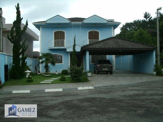 Casa Residencial À Venda, Condomínio Fechado, Atibaia - Ca0566. - Ca0566