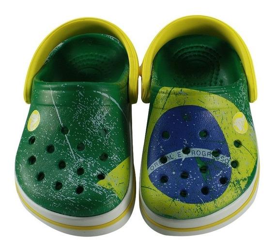 Clog Crocs Brasil (infantil)