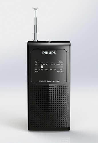 Radio Cornetas Am Fm De Bolsillo Portatil A Baterias Nuevo