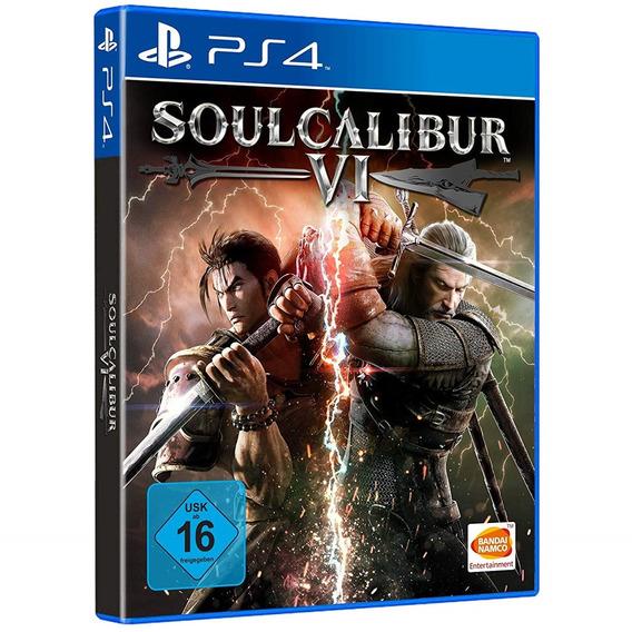 Game Soulcalibur 6 Vi Ps4 Disco Fisico Cd Original Português