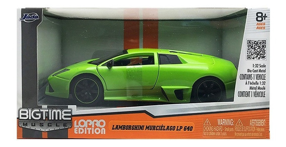 Jada Lamborghini Murciélago Lp 640 Escala 1/32