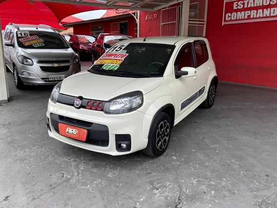 Fiat Uno Sporting 1.4 Branco 2015