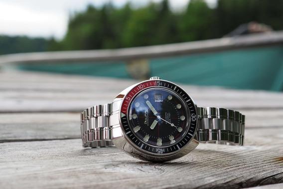 Relógio De Mergulho Bulova Oceanographer 98b320 Devil Diver