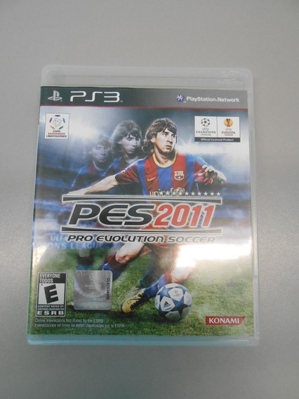 Pes 2011: Pro Evolution Soccer - Playstation 3 (ps3)