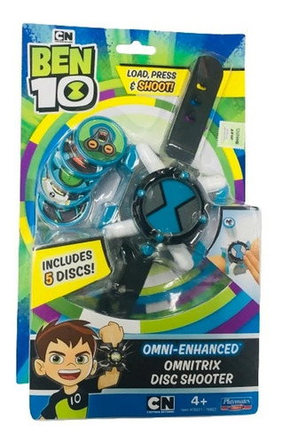 Ben 10 Reloj Omnitrix Con Lanzador De Disco @ Mi Cielo Azul