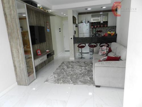 Apartamento Residencial Para Venda E Locação, Vila Rio De Janeiro, Guarulhos. - Ap1931