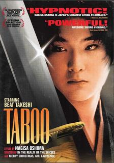 Taboo - Beat Takeshi - Nagisa Oshima - English Subtitles Dvd