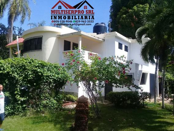 Se Vende Hermosa Casa De Verano A 5 Min De Playa Najayo S.c