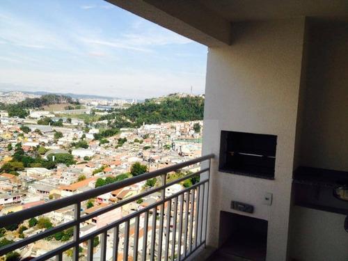 Apartamento Com 4 Dormitórios À Venda, 105 M² Por R$ 650.000,00 - Jardim Tupanci - Barueri/sp - Ap1131