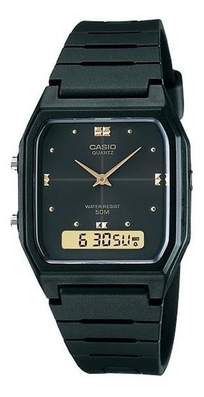 Relógio Casio Vintage Aw-48he-1avdf Dual Time