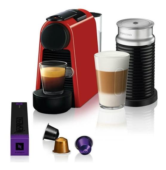 Máquina De Café Nespresso Essenza Mini D30 Vermelha Com A