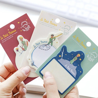 Set De 3 Sticky Notes Notas Adhesivas Del Principito Kawaii