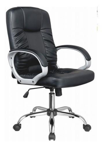 Cadeira Presidente Master Preta Modelo 7700 Bulk