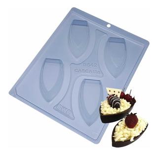 Forma Para Chocolate Barca Pq Ref. 9542 - Pacote 2 Formas