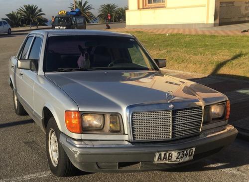 1981 Mercedes Benz Carrocería 126 Version Americana