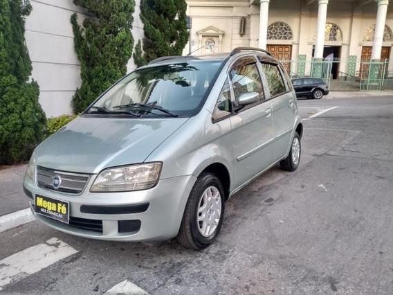 Fiat Idea Elx 1.4flex 4p 2006 Prata Completo (-ar)