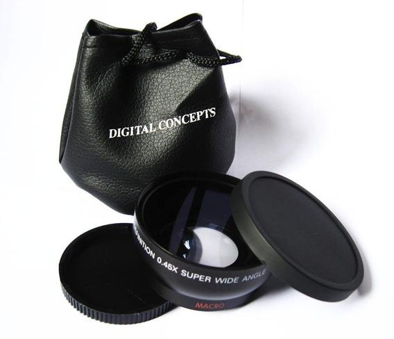 Grande Angular + Macro 55mm Sony Alpha Hx300v Hx400 Hx400v