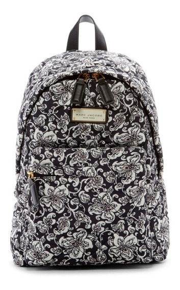 Mochila Marc Jacobs Black Backpack Mujer Accesorio Gym