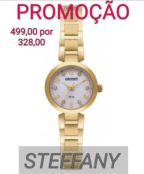 Relógio Orient De Fábrica Original Dourado Fgss0068 S2kx