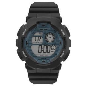 Relógio Mormaii Mo3415d8a Preto/verde