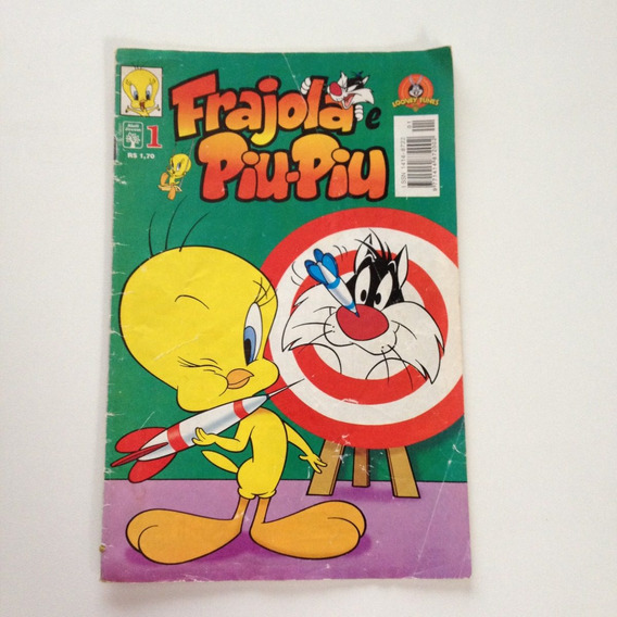 Revista Gibi Hq Frajola E Piu-piu N°01