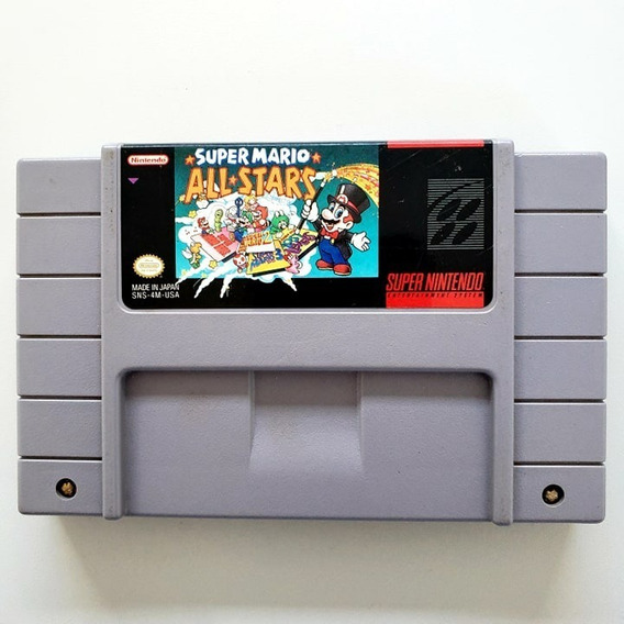 Super Mario All Star Original Snes