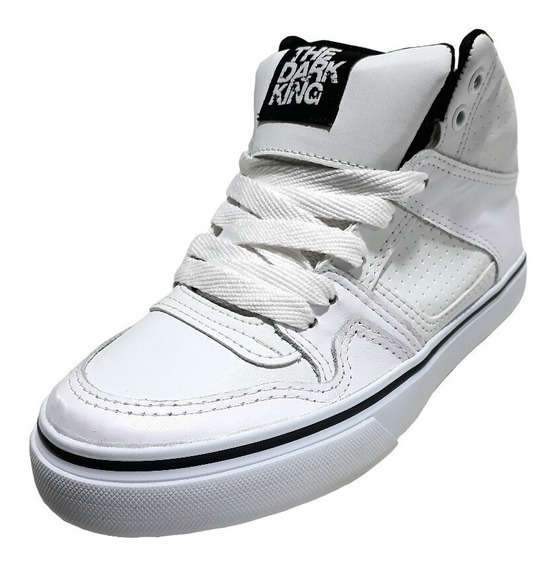 Zapatillas Botitas The Dark King. Skate. Hip Hop. Bronx
