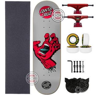 Skate Completo Profissional Santa Cruz - Novos Modelos :