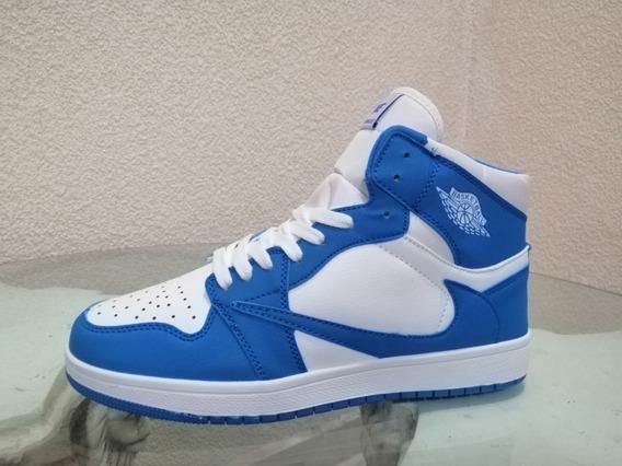 Gvashoes Tipo Jordan 1 Retro -varias Tallas- Varios Colores