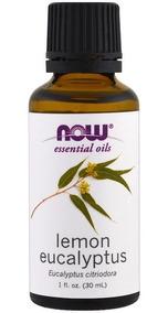 Óleo Essencial De Eucalipto Limão Citriodora 30ml Now Foods