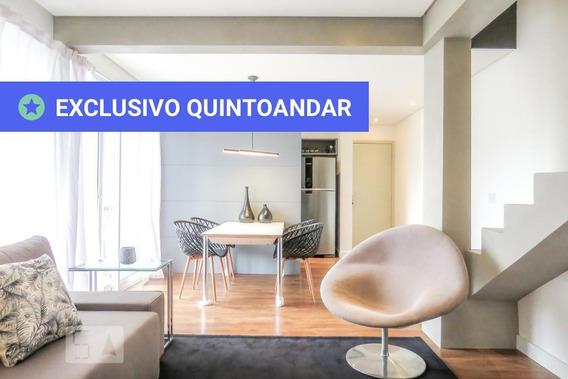 Apartamento No 19º Andar Com 2 Dormitórios E 2 Garagens - Id: 892958851 - 258851