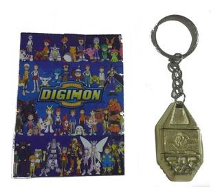 Llavero Emblema Digimon Adventure Amistad Matt Importado