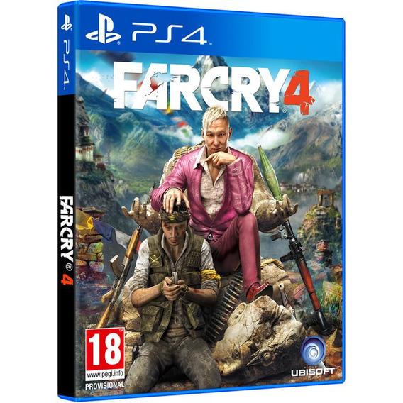 Jogo Far Cry 4 Ps4 Midia Fisica Original Lacrado Português