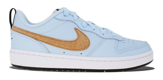 Tenis Nike Court Borough Low 2 Flt (gs) Cq4015-400