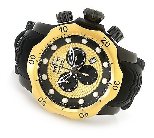 Relógio Invicta Venom 20444 Swiss Movement All Black