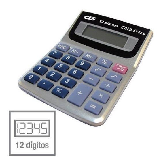 Calculadora De Mesa 12 Digitos Calck C-214 Sertic