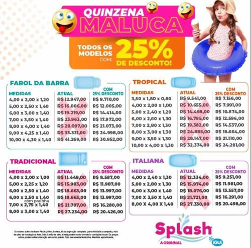 Imagem 1 de 5 de Mega Promoção Piscinas Splash