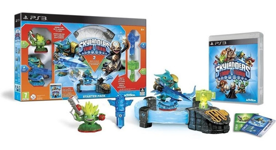 Skylanders Trap Team Starter Pack - Para Ps3